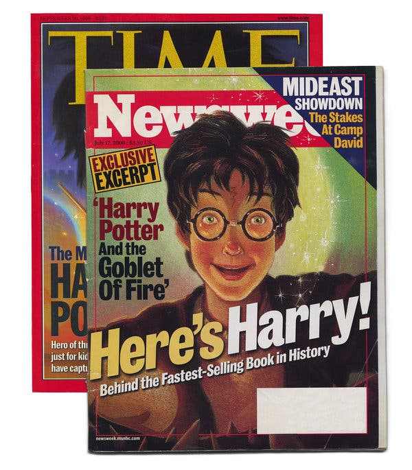 harry potter book review new york times