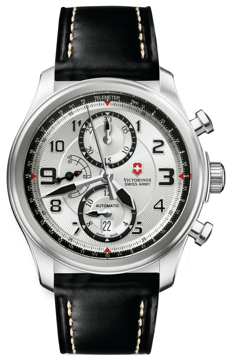 victorinox infantry vintage mechanical chronograph review