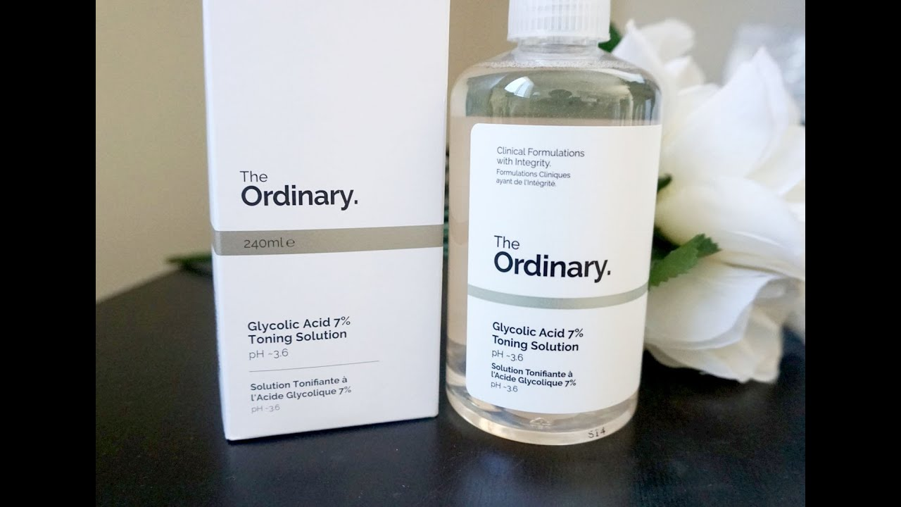 the ordinary glycolic acid toner review