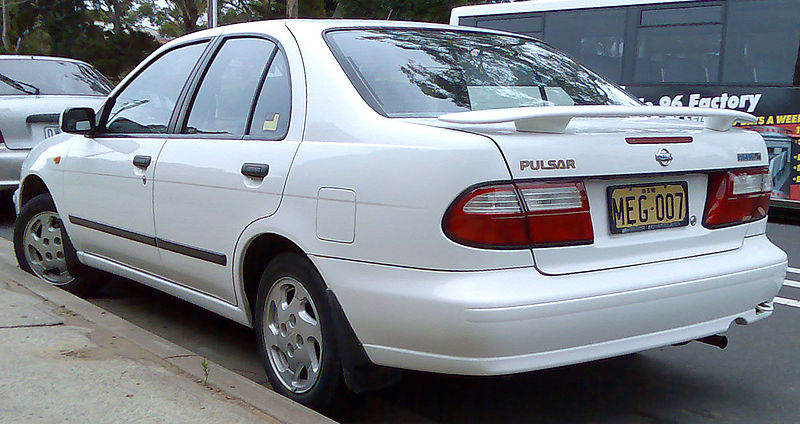 1999 nissan pulsar n15 s2 plus lx review