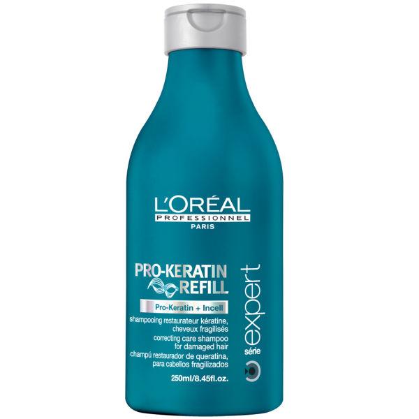 l oreal pro keratin shampoo review