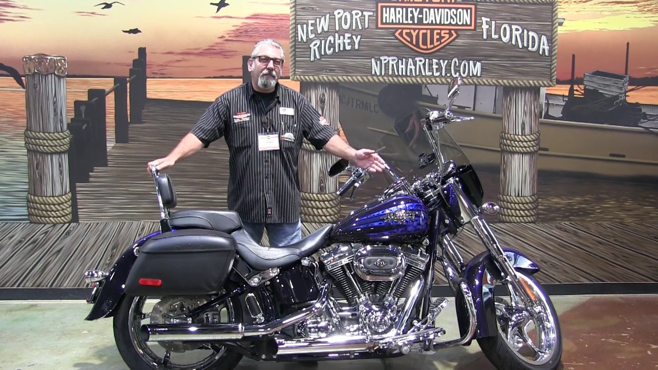 2012 cvo softail convertible review
