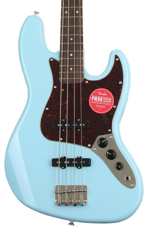 squier classic vibe 60s jazz bass review