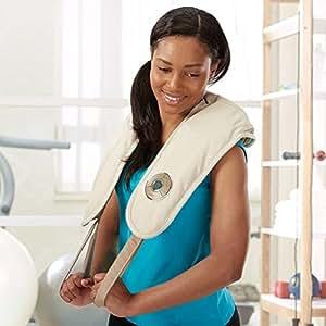 brookstone neck and shoulder massager reviews