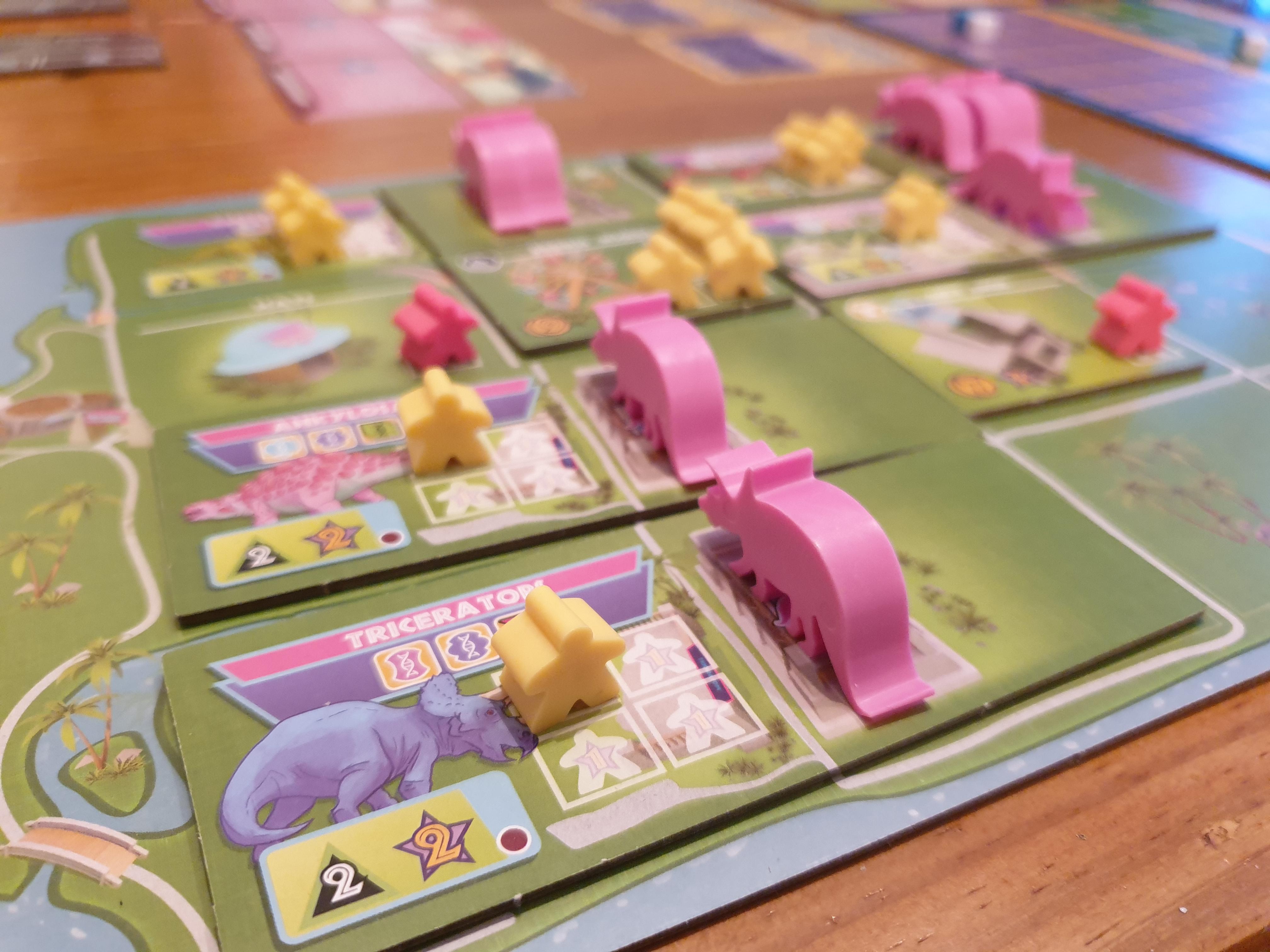 dinosaur island board game review