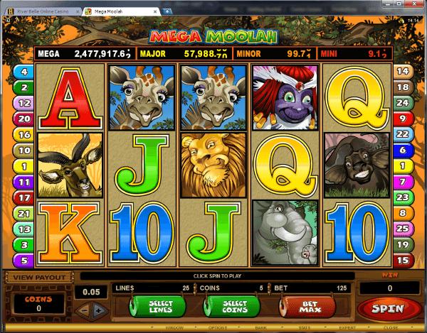 river belle online casino reviews