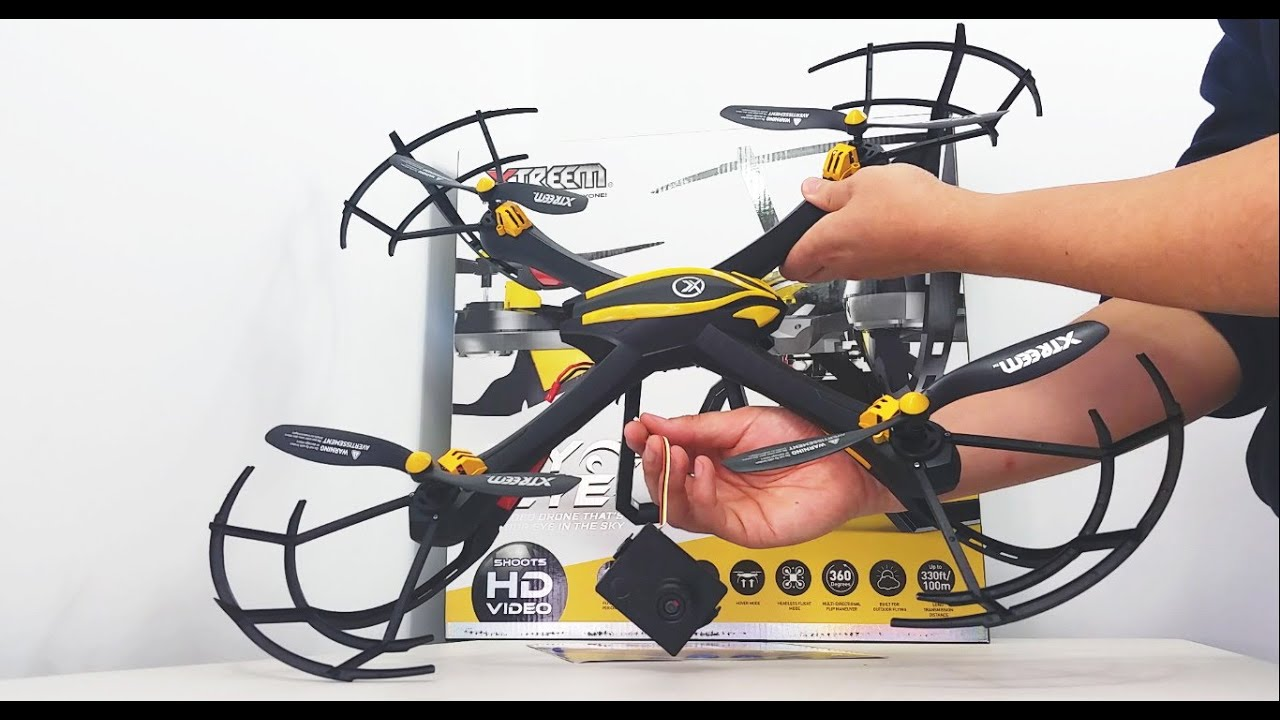 swann raptor eye quadcopter review