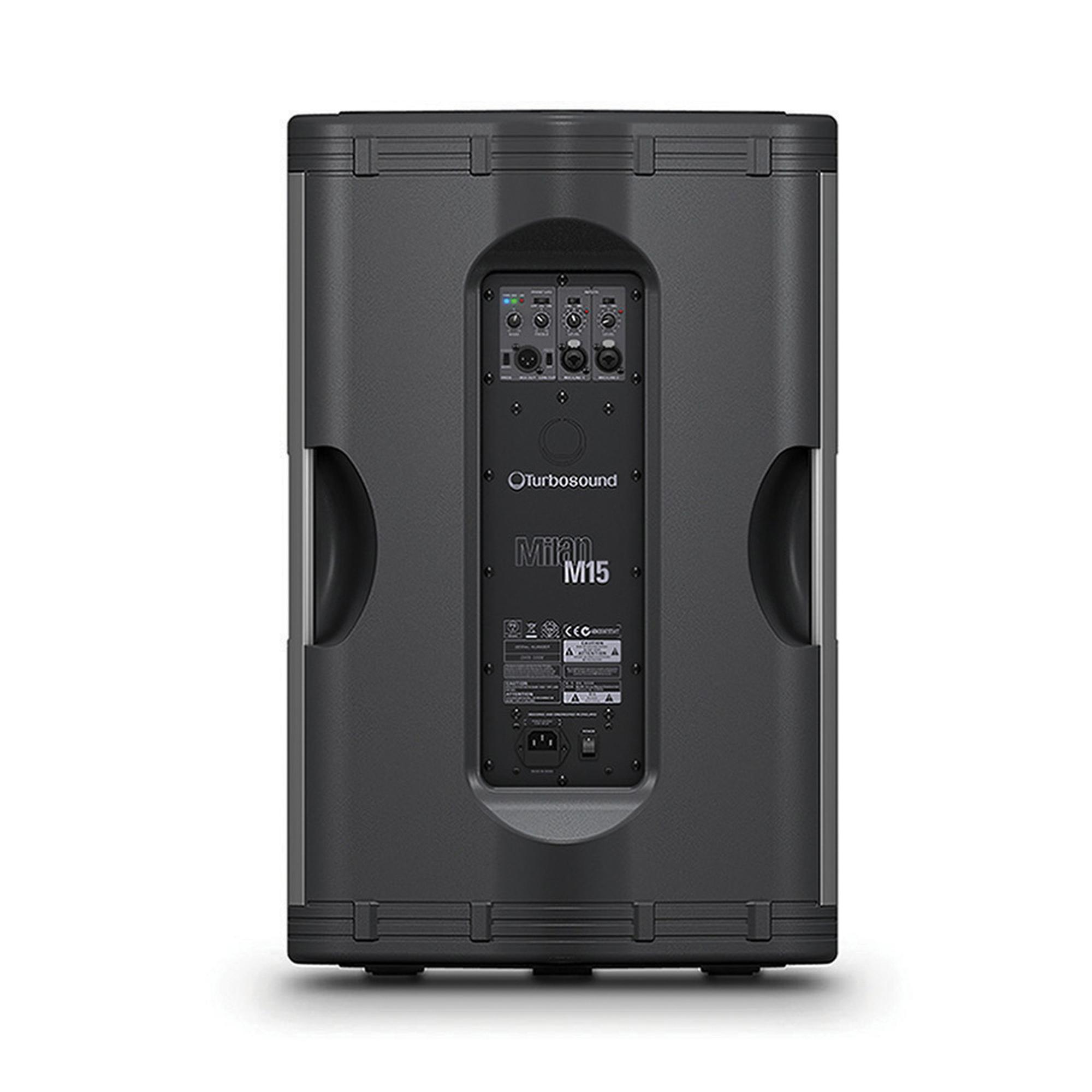 turbosound milan m15 powered loudspeaker reviews