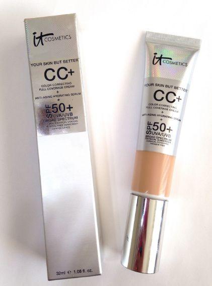 it cosmetics cc cream review acne