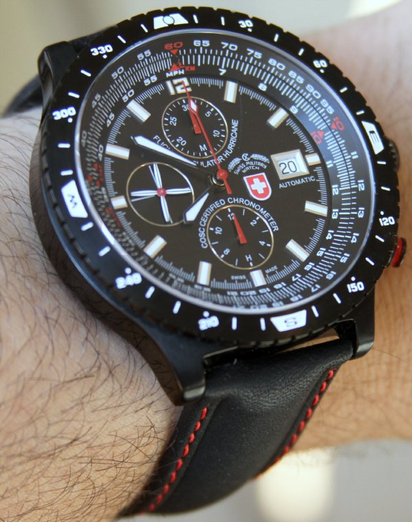 cx swiss military watch review