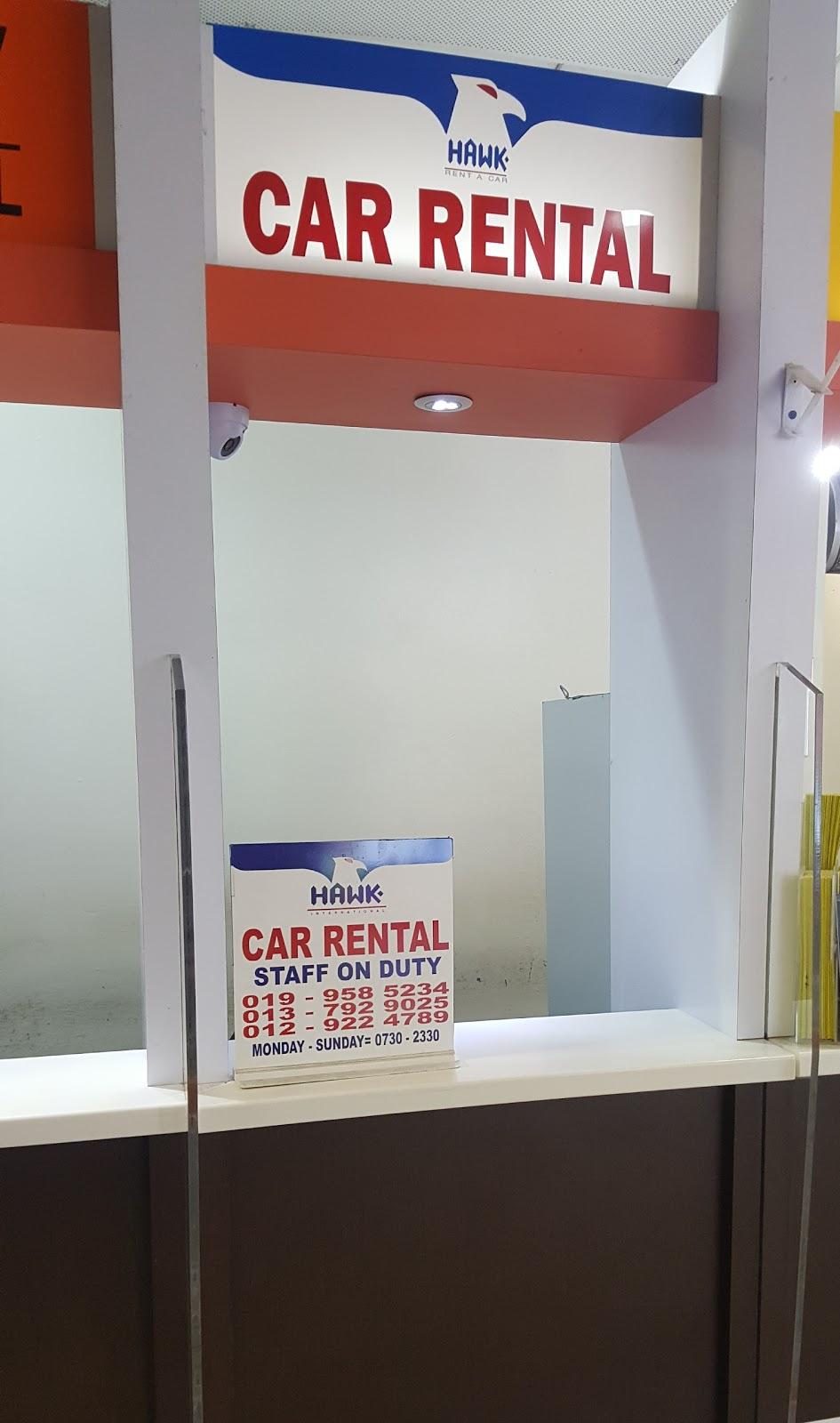 hawk rent a car review