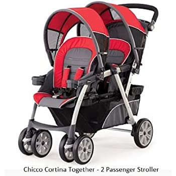 chicco cortina double stroller reviews