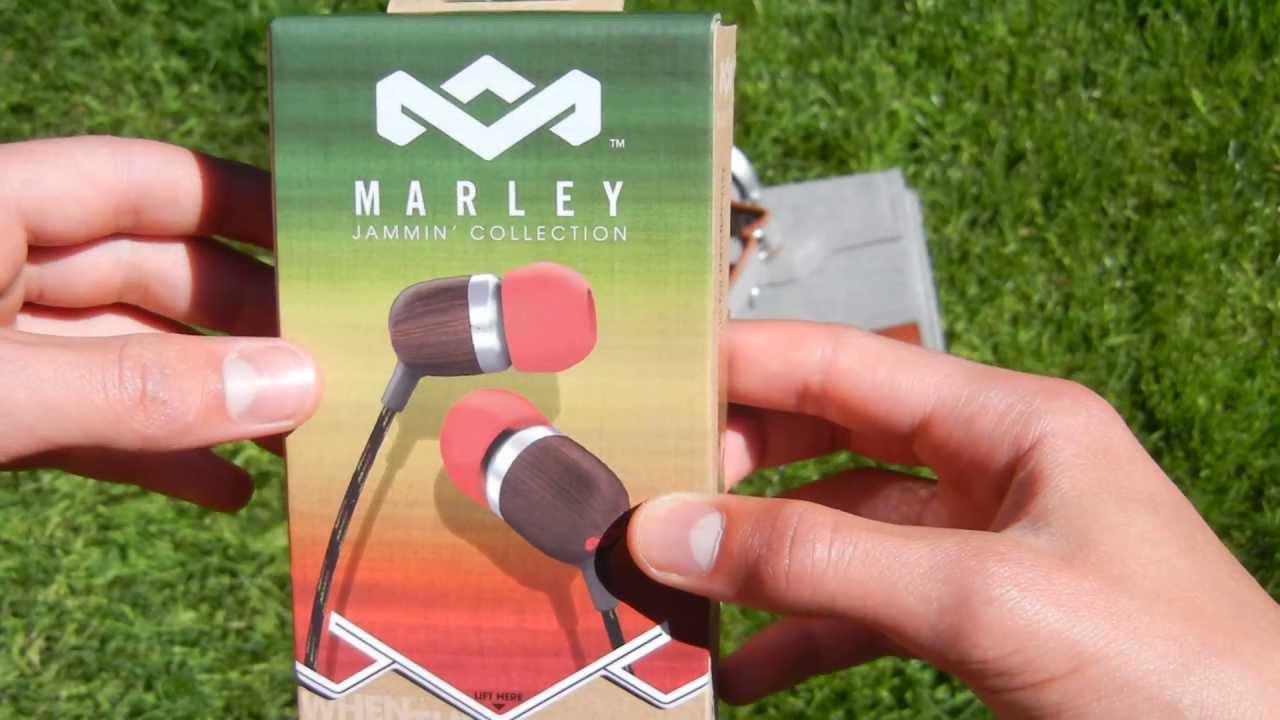 marley smile jamaica in ear headphones review
