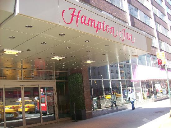 hampton inn times square north reviews