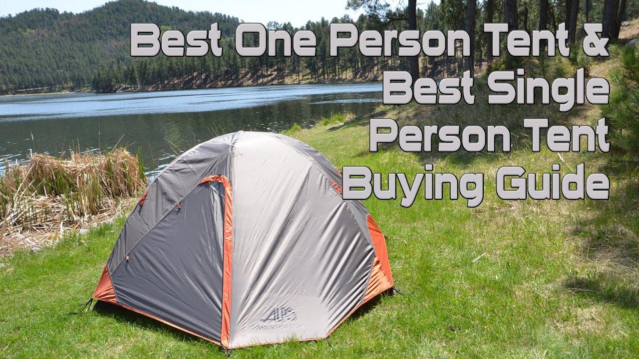 best 1 man tent reviews