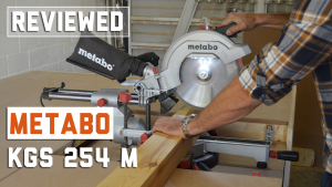 metabo kgs 254 m review