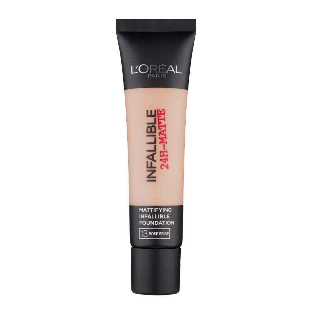 l oreal infallible foundation rose beige review