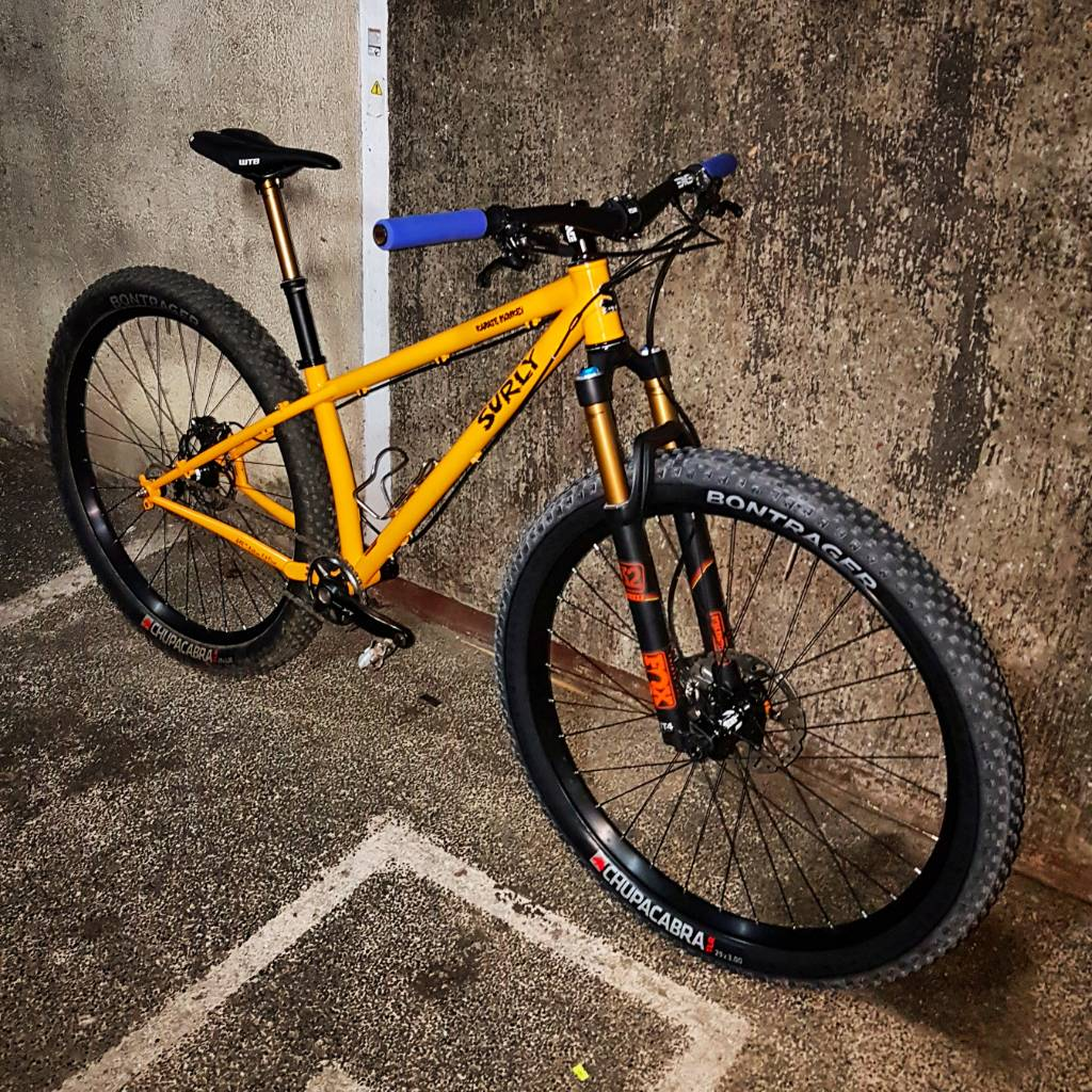 surly karate monkey fork review