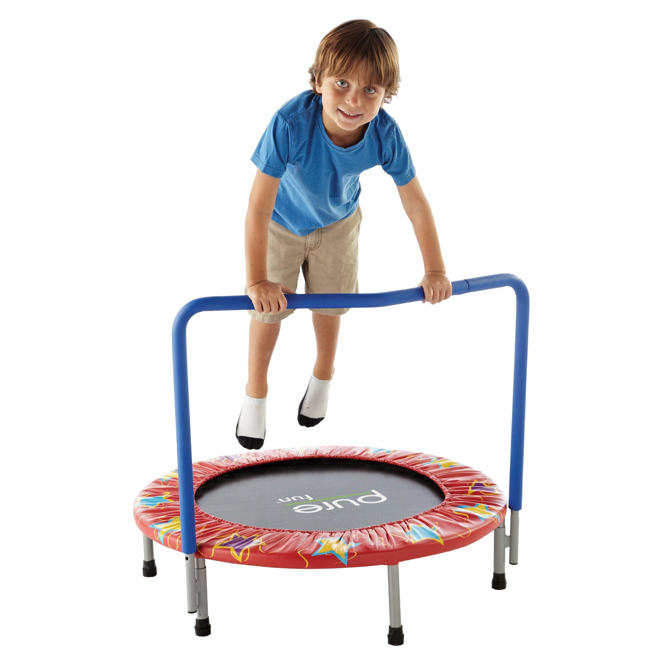 pure fun mini trampoline reviews