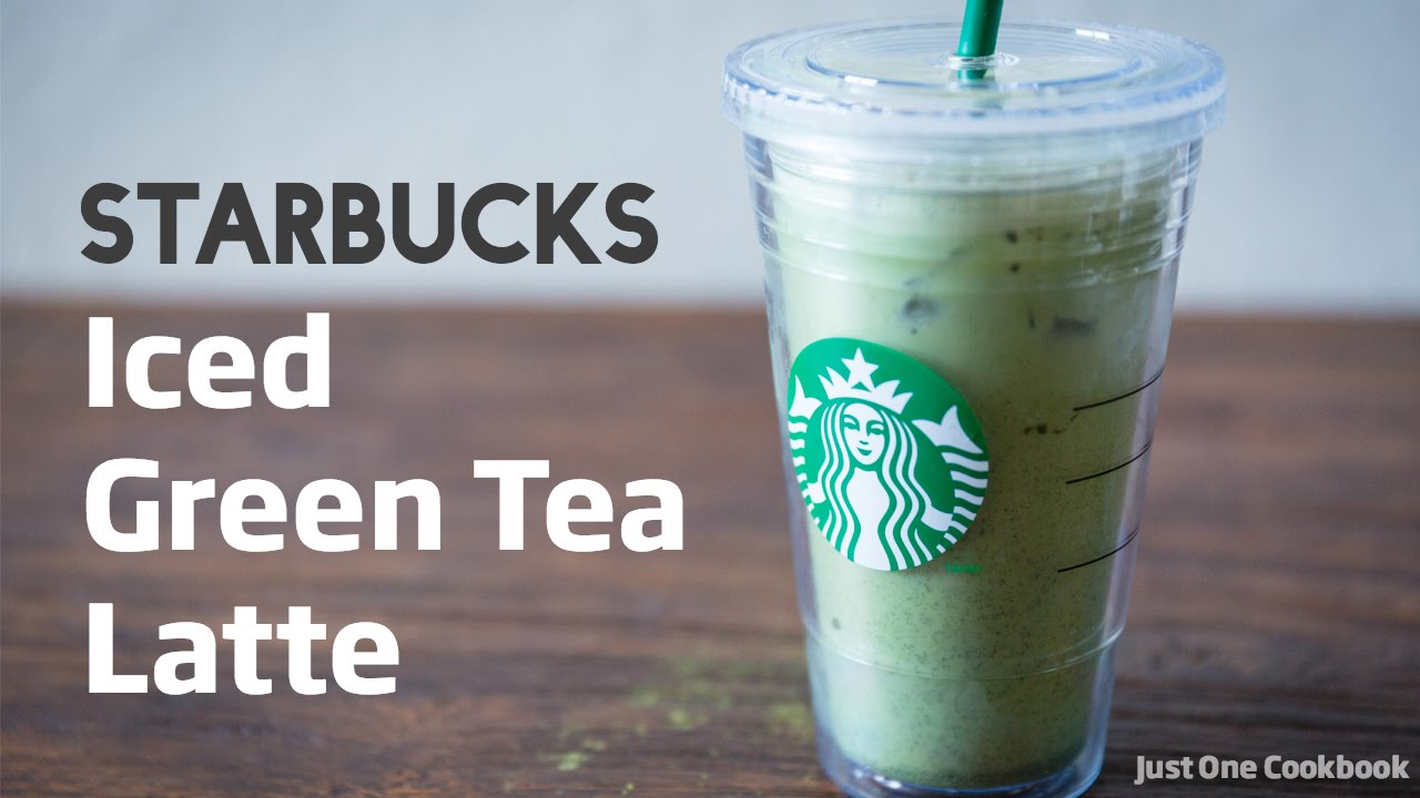 iced green tea latte review