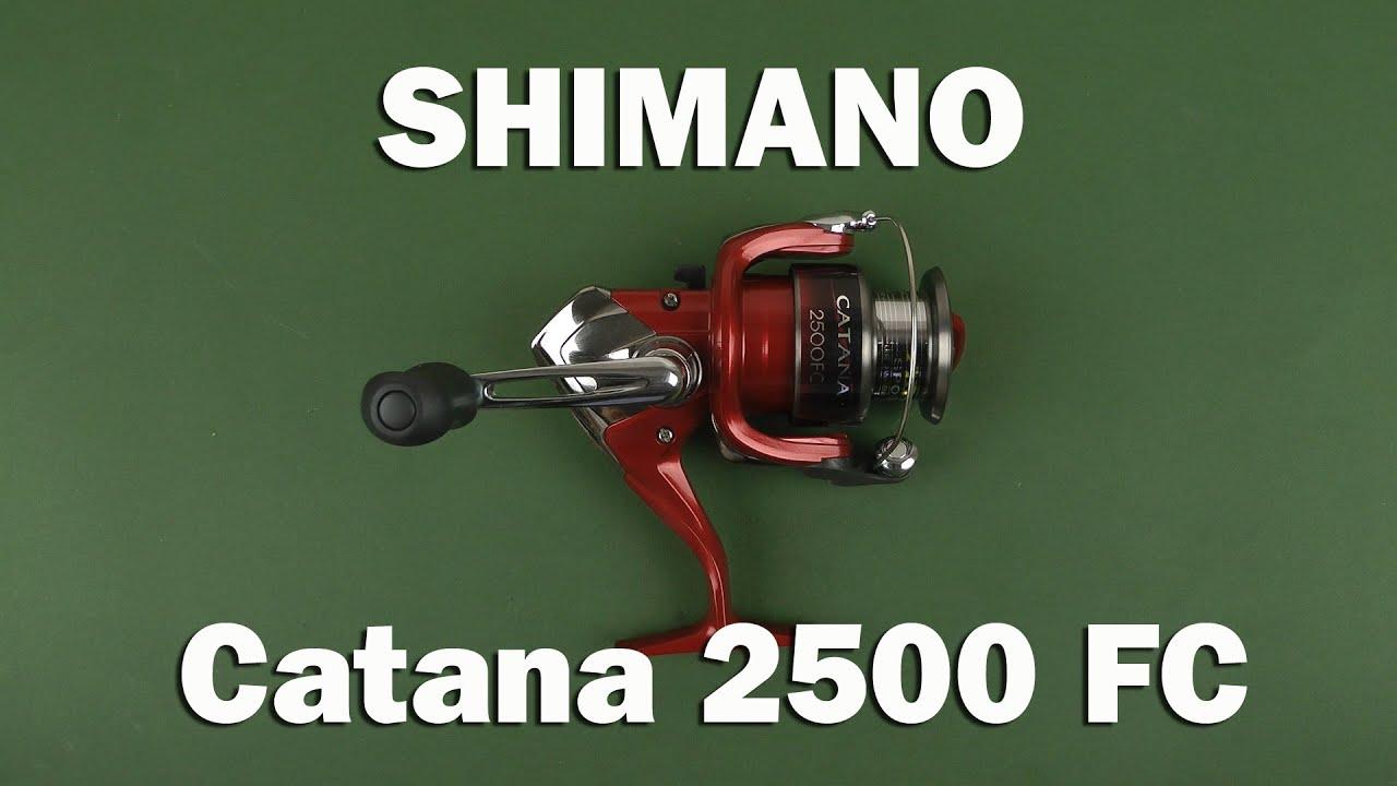 shimano catana 2500 fc review