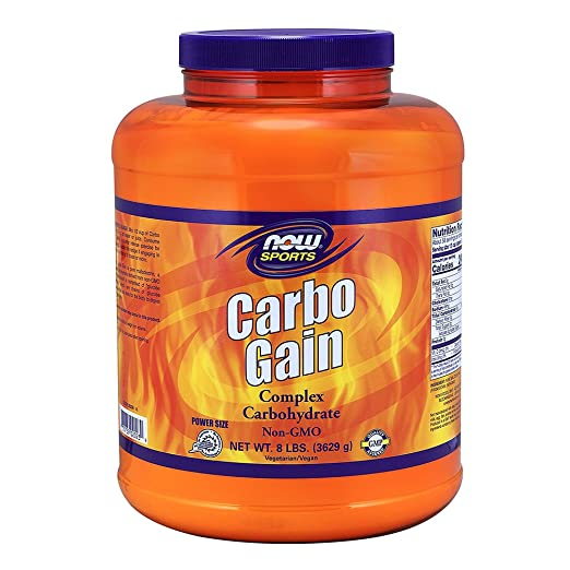 now foods carbo gain review