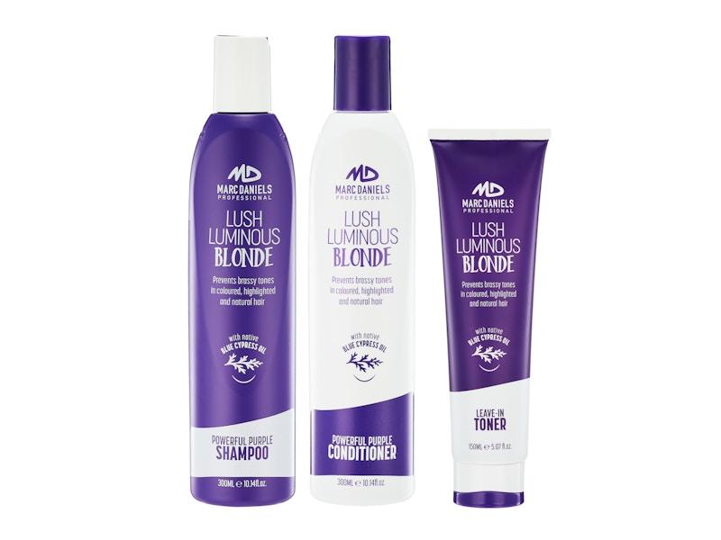 marc daniels purple shampoo review