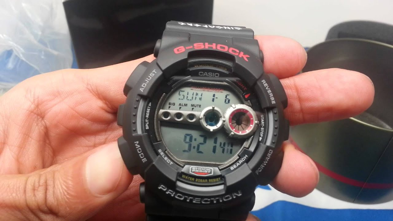 g shock gd 100 1bdr review
