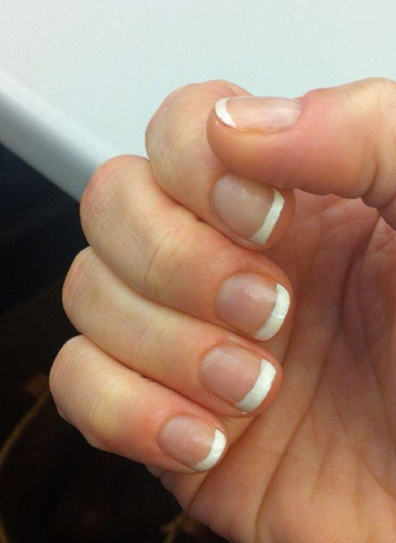 sally hansen diamond strength french manicure pen kit reviews