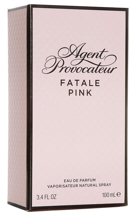 agent provocateur fatale pink review