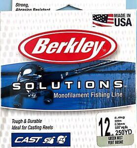 berkley solutions fishing line reviews