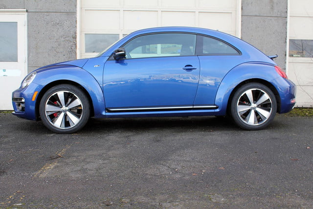 vw beetle r line review