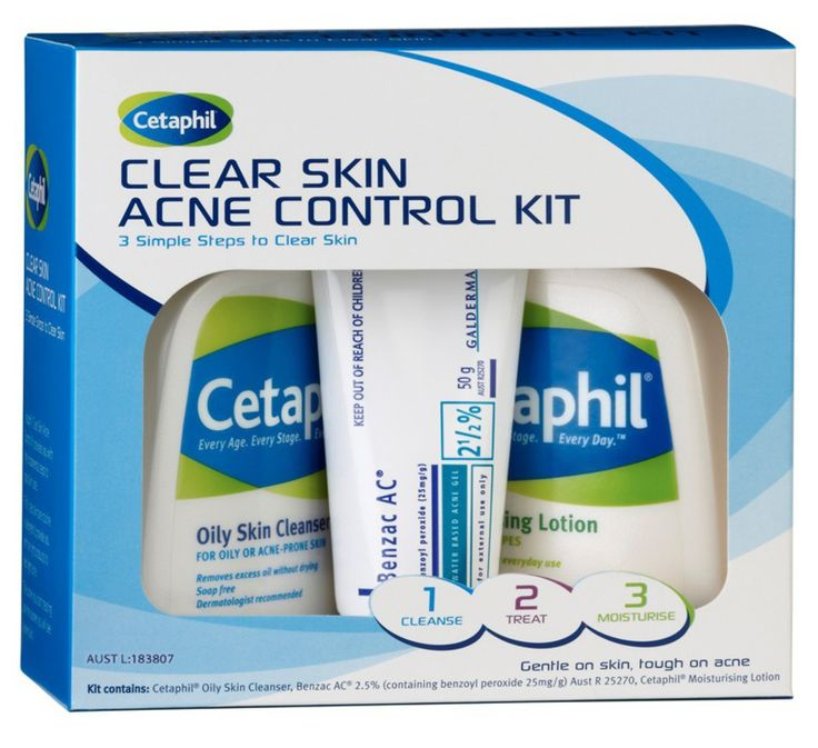 benzac clear skin acne control kit review
