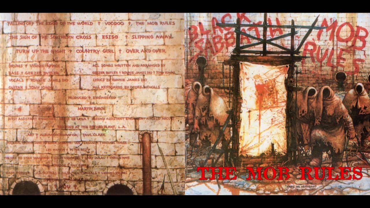black sabbath mob rules review