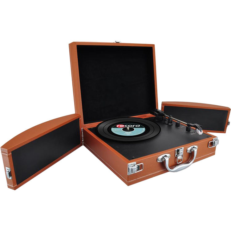 buddee portable suitcase turntable review