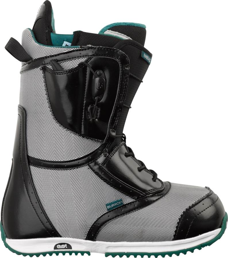 burton emerald snowboard boots review