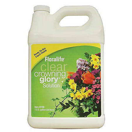 crowning glory floral spray reviews