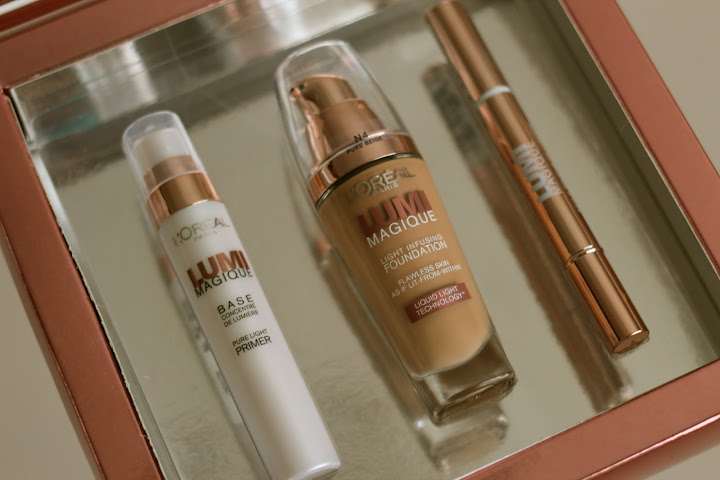 l oreal lumi magique light infusing foundation review