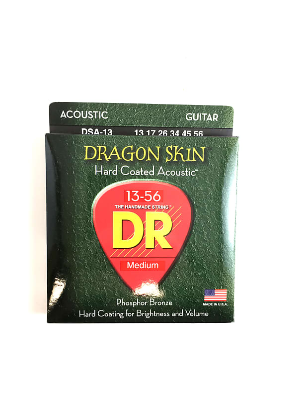 dr dragon skin acoustic strings review