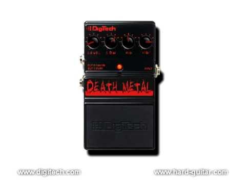 digitech death metal distortion pedal review