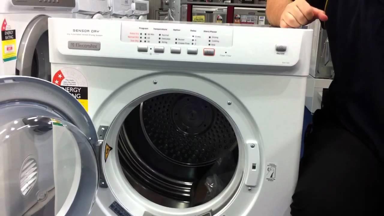 electrolux 5kg sensor dryer review