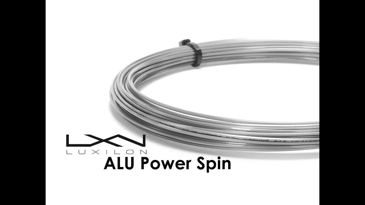 luxilon alu power rough 16l string review