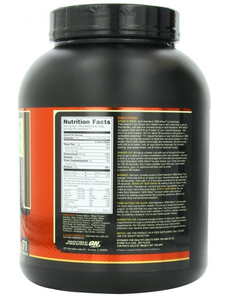 gold standard 100 whey protein isolate review