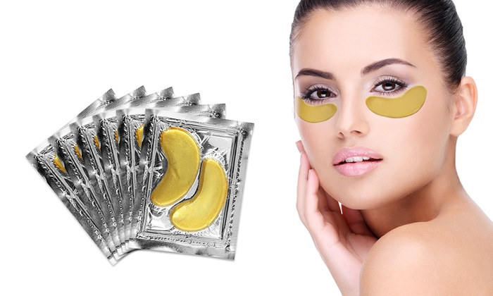 gold under eye mask review