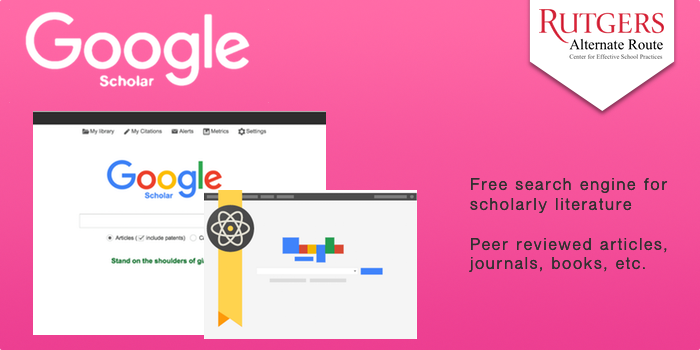 google scholar peer reviewed articles only