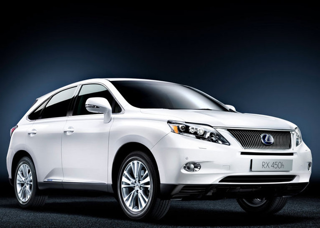 lexus rx 450h review 2010