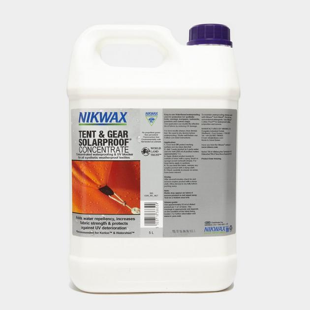 nikwax tent and gear solarproof review