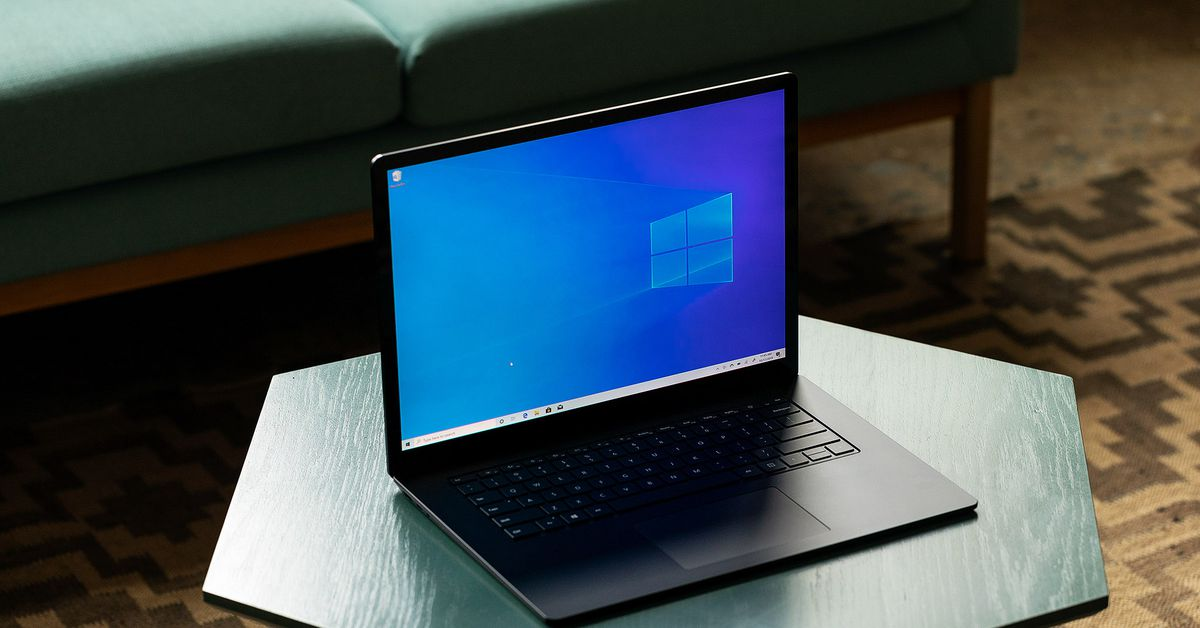 surface laptop review the verge