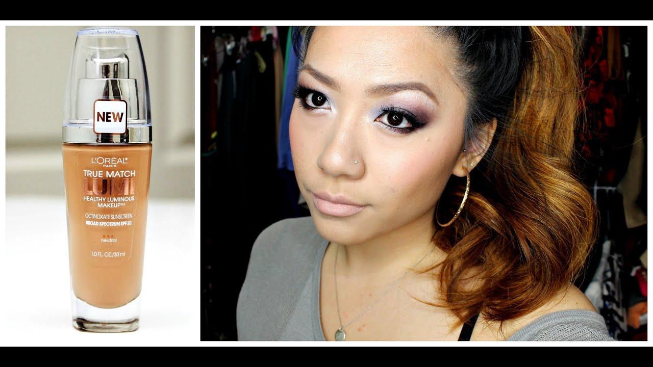 true match lumi healthy luminous makeup review