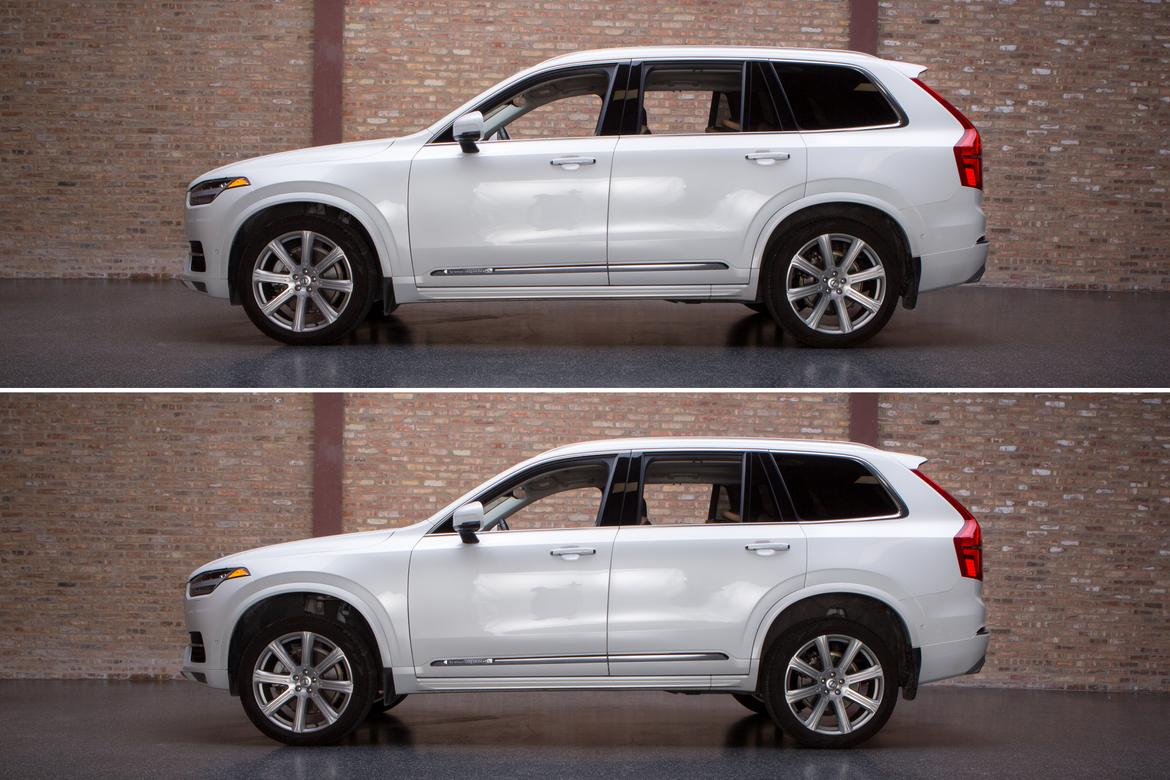 volvo xc90 air suspension review